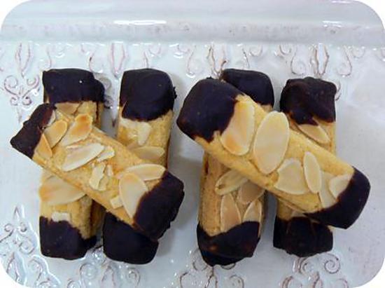 recette BREDELE CHOCO-AMANDES ... mes préférés