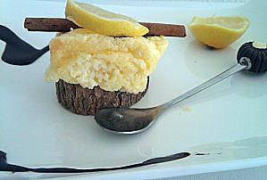 recette Mini soufflé au citron de cyril lignac