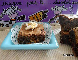 recette Brownies au nougat