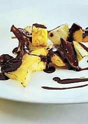 recette fruits au chocolat