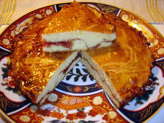 recette de gateau breton fouré à la fraise