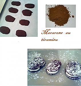 recette Macaron de tiramisu