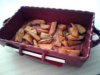 recette Frites de patates douces au four
