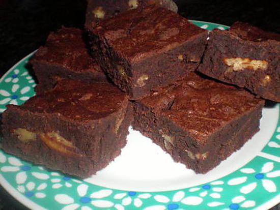 recette de brownie aux noix de p can. Black Bedroom Furniture Sets. Home Design Ideas