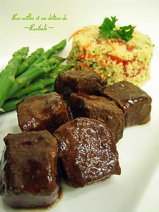 recette Porc asiatique sauce aigre-douce