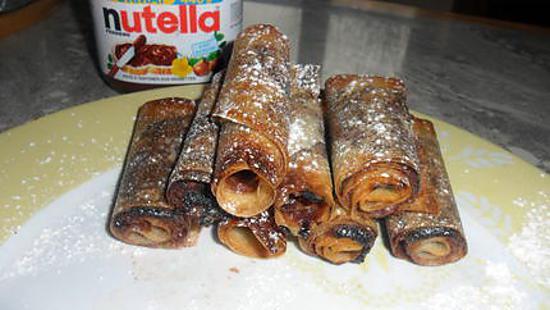 Recette De Petits Roules Au Nutella