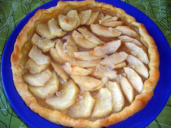 recette tarte aux pommes ultra facile