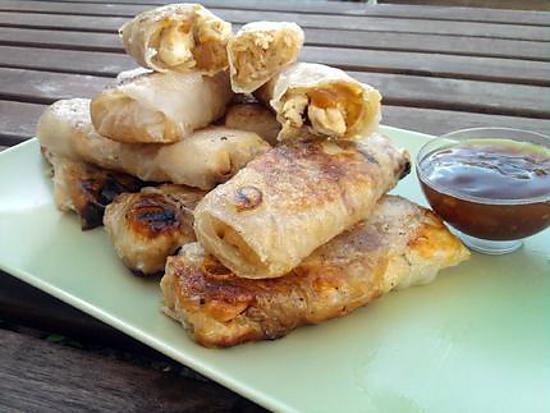 recette Nems version poulet