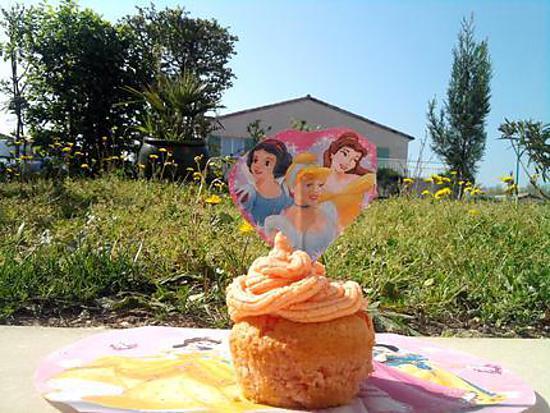 "recette Cupcake disney ""les princesses"""