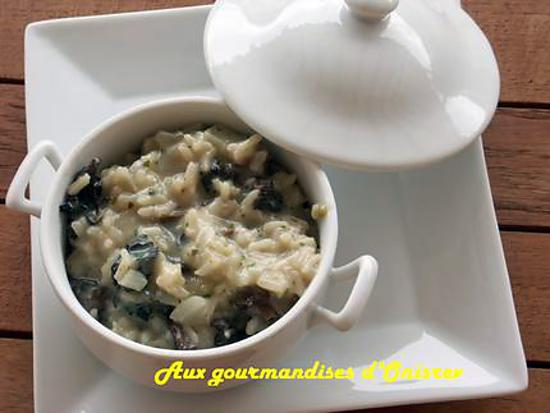 recette de risotto aux morilles et au parmesan. Black Bedroom Furniture Sets. Home Design Ideas