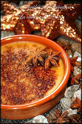 recette Crème brûlée au Spéculoos