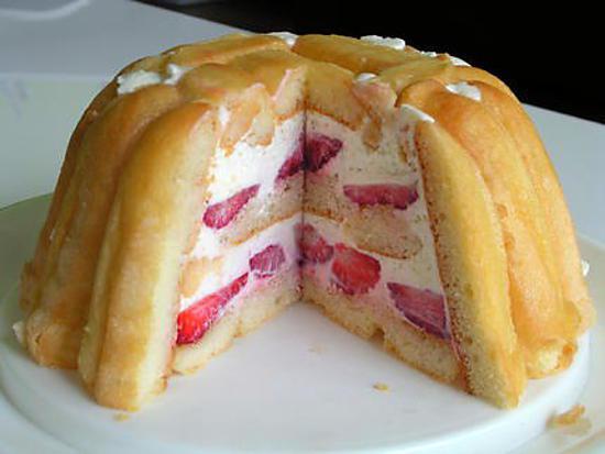 Recette de charlotte aux fraises par lililapeste - Jeux de charlotte aux fraises cuisine gateaux ...