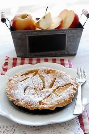 recette de tarte aux pommes normande selon julia child. Black Bedroom Furniture Sets. Home Design Ideas
