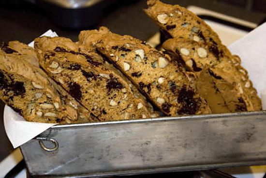 recette biscotti amande chocolat