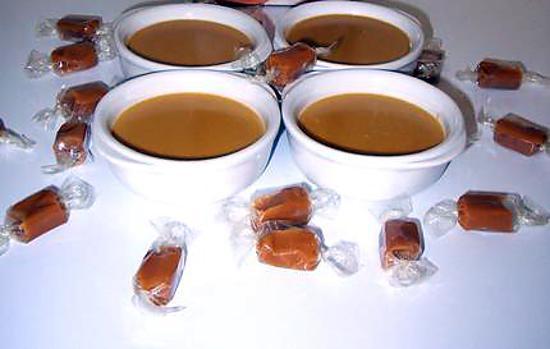recette de petit pots de cr me caramel au beurre sal. Black Bedroom Furniture Sets. Home Design Ideas