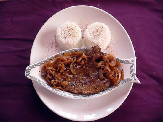 recette Foie de boeuf aux échalotes