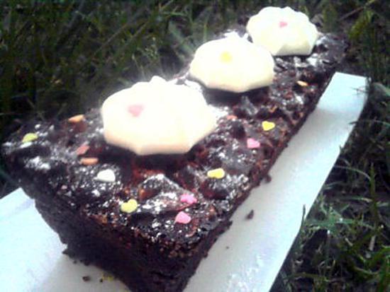 recette Terrine de chocolat meringué de mon chéri