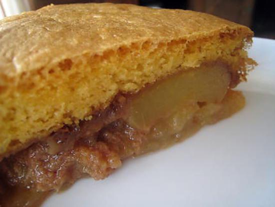 tarte biscuit aux pommes