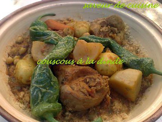 recette couscous tunisien: