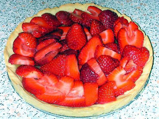 recette Tarte aux fraises et lemon curd
