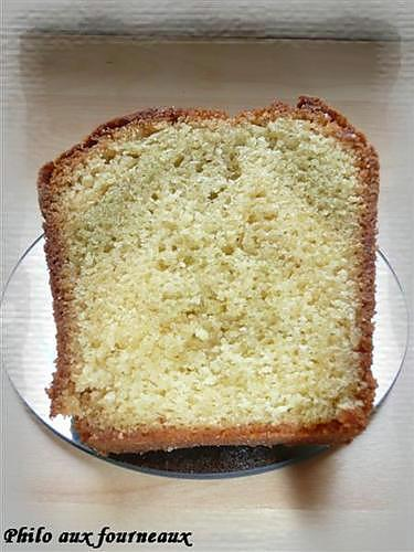 recette Cake au thé matcha & au chocolat blanc