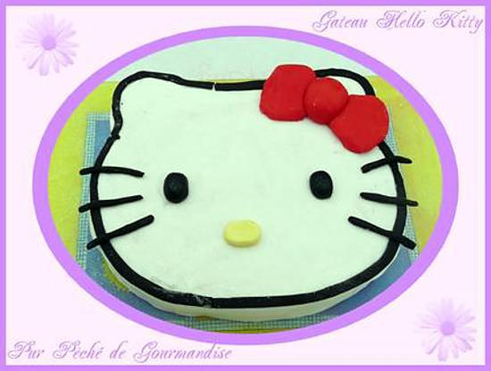 Recette de gateau t te hello kitty - Tete hello kitty ...