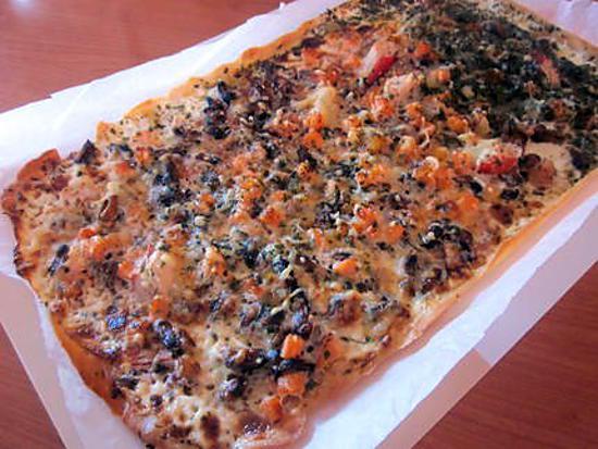 recette de pizza aux fruits de mer par cristelle. Black Bedroom Furniture Sets. Home Design Ideas