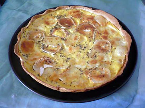 Recette de tarte raclette richesmonts pommes de terre - Temps cuisson pomme de terre raclette ...