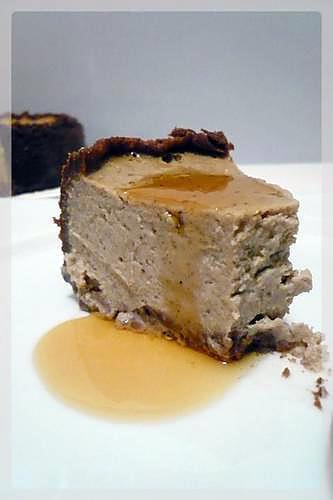 recette Cheesecake à la crème de marrons