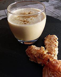 recette Crème de chou-fleur et langoustines snackées aux noisettes