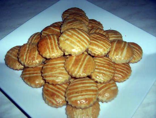 recette Délicieux biscuits à la vanille