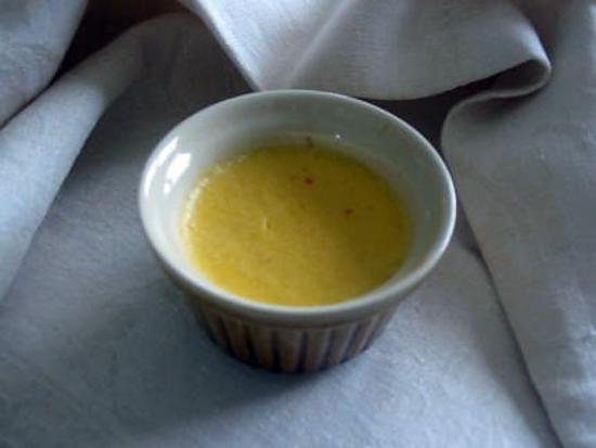 recette Flans à l'orange