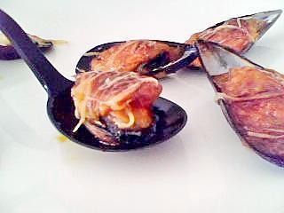 recette Moules gratiné à  la sietoise