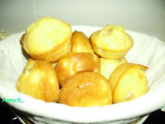 recette muffins poire-miel