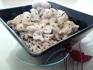 recette d 39 escalopes de poulet au lait concentr et son riz 3 couleurs. Black Bedroom Furniture Sets. Home Design Ideas