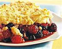 recette Crumble au fruits rouges
