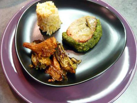 recette de cuisine moderne