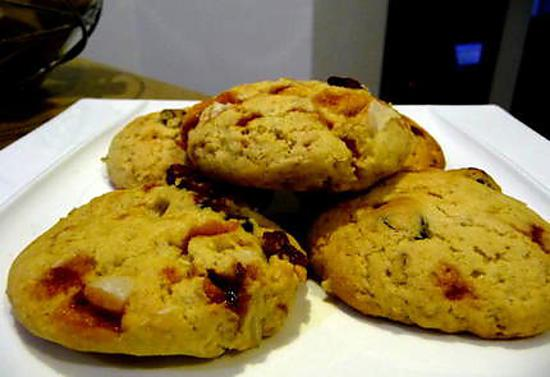 recette Ooo Cookies Cranberries & noix du Brésil caramélisées ooO