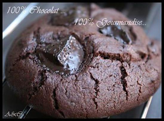 Cookies Tout Chocolat Outrageusement Delicieux Nommes Aussi Outrageous