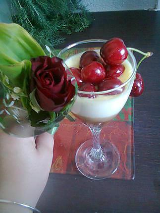 recette Mascarpone cerise