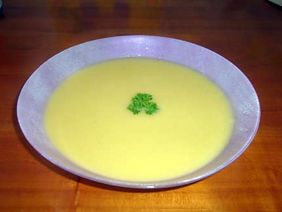 recette Velouté de courgettes au Carré frais