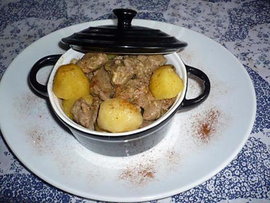 recette Sauté de porc aux lardons