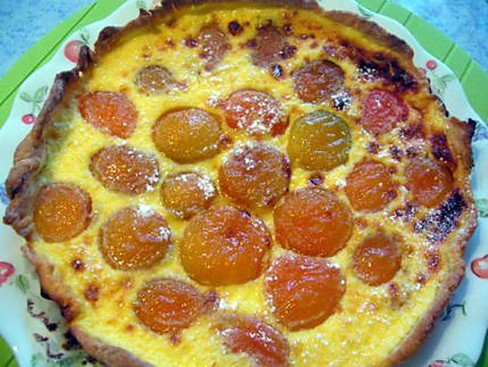 Recette de tarte aux abricots p te tarte petits suisses - Recette de tarte aux abricots ...