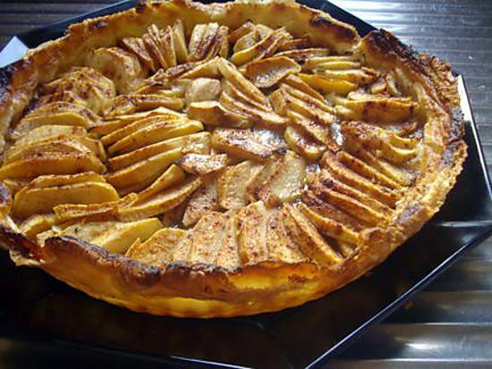 les meilleures recettes de tarte aux pommes p te feuillet e. Black Bedroom Furniture Sets. Home Design Ideas