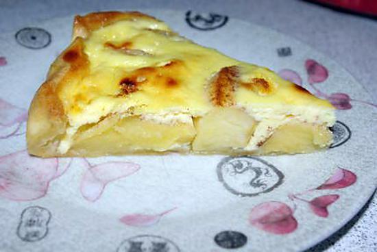recette de tarte aux pommes au fromage blanc. Black Bedroom Furniture Sets. Home Design Ideas