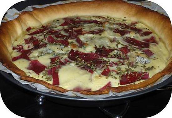 recette Tarte Salée Viande de Grison & Fourme d'Ambert