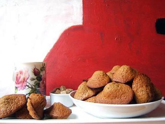 recette Madeleines aux trois épices