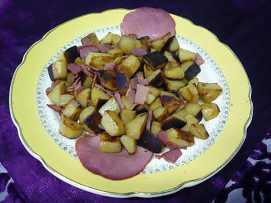 recette de poelee de pommes de terre nouvelles au bacon. Black Bedroom Furniture Sets. Home Design Ideas