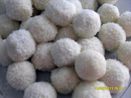 boule de neige a la noix de coco et billes choco\u0027s