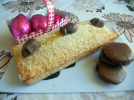 recette cake noix de coco d'amour